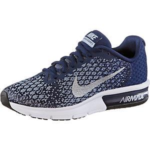 Nike Air Max Sequent Sneaker Jungen blau