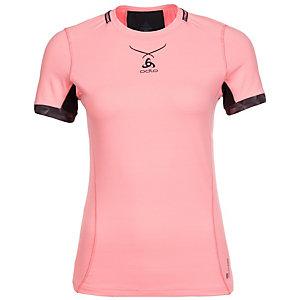 Odlo Ceramicool Pro Laufshirt Damen rosa / schwarz