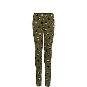 Nike Leg-A-See Leggings Mädchen grün / schwarz