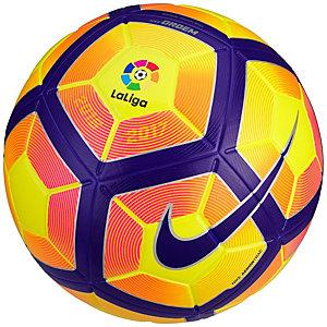 Nike Ordem 4 La Liga 16/17 Größe 5 Fußball gelb / lila / blau