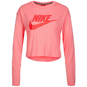 Nike Essential Sweatshirt Damen rosa / rot