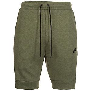 Nike Tech Fleece Shorts Herren oliv