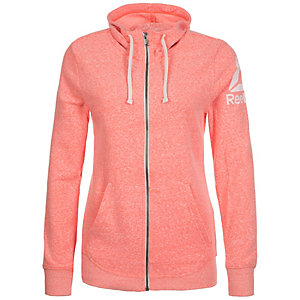 Reebok Elements Prime Group Trainingsjacke Damen rosa / weiß