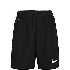 Nike Laser III Fußballshorts Kinder schwarz / weiß