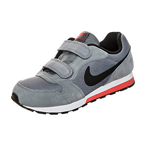 Nike MD Runner 2 Sneaker Kinder grau / schwarz / rot