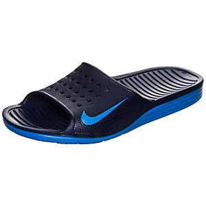 Nike Solarsoft Slide Pantoletten Herren dunkelblau / blau
