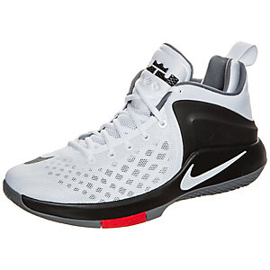 Nike Zoom Witness Basketballschuhe Herren weiß / schwarz / rot
