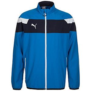 PUMA Spirit II Woven Trainingsjacke Herren blau / weiß