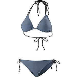 adidas Triangelbikini Damen blau