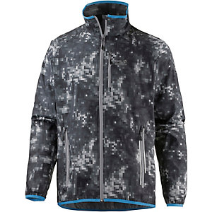 Jack Wolfskin Flyweight Rain Forest Windbreaker Herren anthrazit/allover