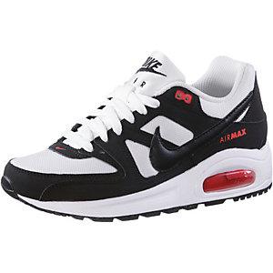 Nike AirMax Command Flex Fitnessschuhe Jungen weiß/schwarz