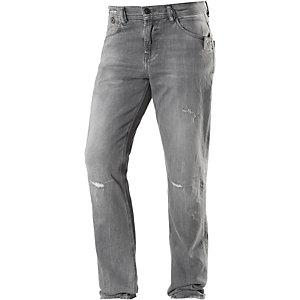 LTB Fabijan Slim Fit Jeans Herren grey destroyed denim