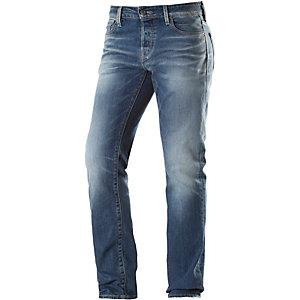 Jack & Jones Clark Straight Fit Jeans Herren dark denim