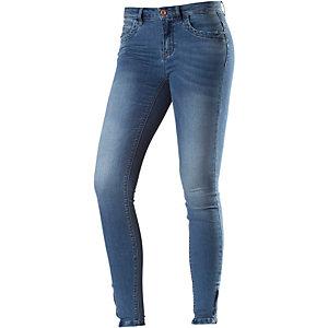Only onlKendell Ankle Skinny Fit Jeans Damen blue washed denim