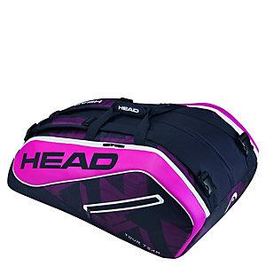 HEAD Tour Team 12er Monstercombi Tennistasche dunkelblau / pink