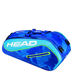 HEAD Tour Team 9er Supercombi Tennistasche blau / hellblau