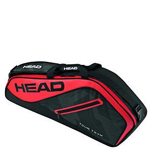 HEAD Tour Team 9er Supercombi Tennistasche schwarz / rot