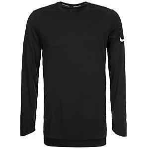 Nike Breathe Elite Basketball Shirt Herren schwarz