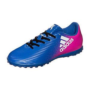 adidas X 16.4 Fußballschuhe Kinder blau / weiß / pink