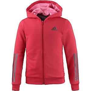adidas hoodie m dchen rot im online shop von sportscheck. Black Bedroom Furniture Sets. Home Design Ideas
