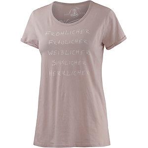 Herrlicher T-Shirt Damen rosa