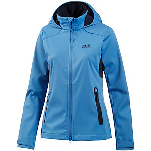 Jack Wolfskin Cusco Valley Softshelljacke Damen blau