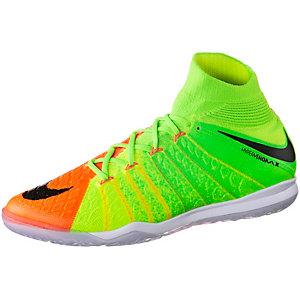 Nike HYPERVENOMX PROXIMO II DF IC Fußballschuhe Herren neongrün/orange