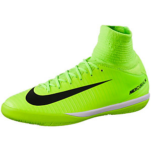 Nike JR MERCURIALX PROXIMO II IC Fußballschuhe Kinder neongrün/schwarz