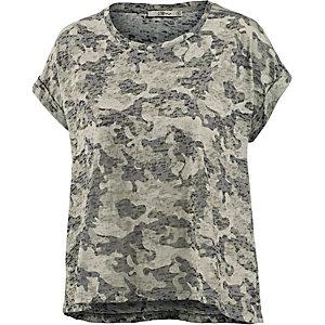 LTB Tewido T-Shirt Damen oliv/camouflage