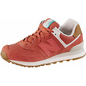 NEW BALANCE WL574SEA Sneaker Damen orange
