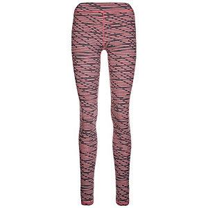Under Armour AllSeasonGear Favorite Print Tights Damen rosa / grau