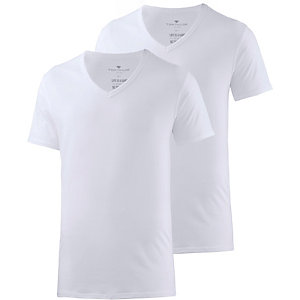 TOM TAILOR T-Shirt Herren weiß