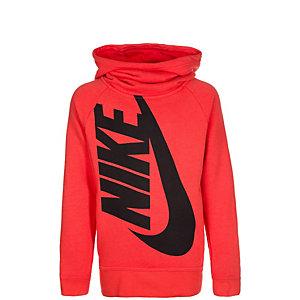 Nike Modern Kapuzenpullover Mädchen orange / schwarz