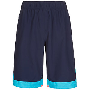 Under Armour HeatGear SC30 Hypersonic Basketball-Shorts Herren dunkelblau / blau