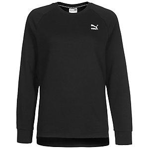 PUMA Archive Logo Crew Sweatshirt Damen schwarz / weiß