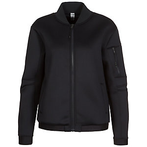 Under Armour AllSeasonGear Luster Bomber Trainingsjacke Damen schwarz