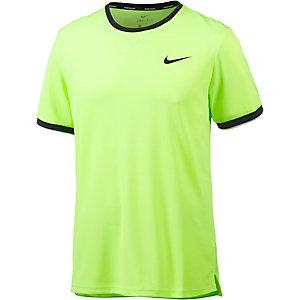 Nike Team Tennisshirt Herren neongrün