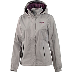 the north face resolve 2 regenjacke damen grau im online shop von sportscheck kaufen. Black Bedroom Furniture Sets. Home Design Ideas