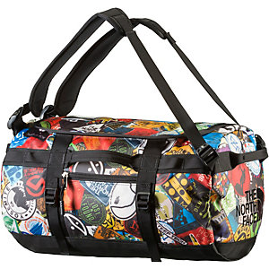 The North Face Base Camp Duffel Reisetasche rot/bunt