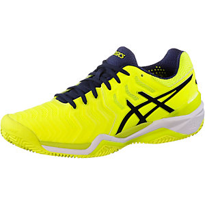 ASICS Gel-Solution 7 Clay Tennisschuhe Herren neongelb/navy