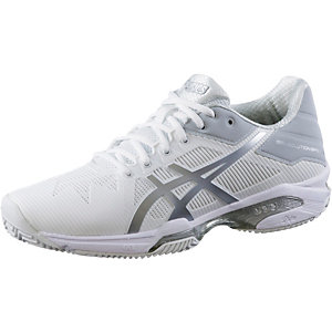 ASICS Gel-Solution Speed 3 Clay Tennisschuhe Damen weiß