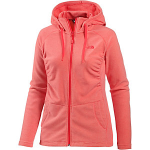 The North Face Mezzaluna Fleecejacke Damen koralle