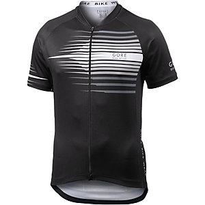 Gore Element Razor Fahrradtrikot Herren schwarz/weiß