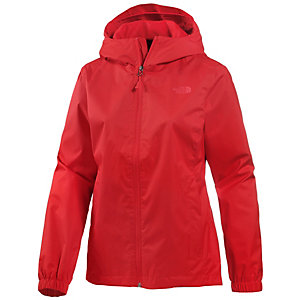 The North Face Quest Regenjacke Damen rot