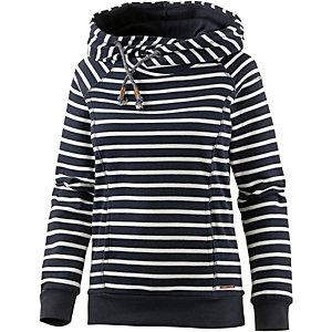 Only Sweatshirt Damen dunkelblau gestreift