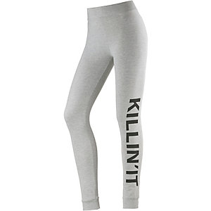 Only Leggings Damen hellgrau melange