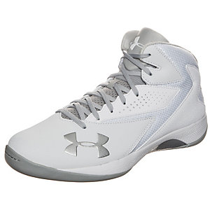 Under Armour Lockdown Basketballschuhe Herren weiß / grau