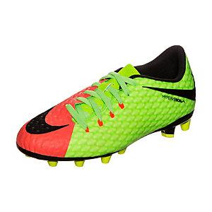 Nike Hypervenom Phelon III Fußballschuhe Kinder neongrün / schwarz