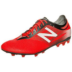 NEW BALANCE Furon Pro Fußballschuhe Herren neonrot / weiß / grau