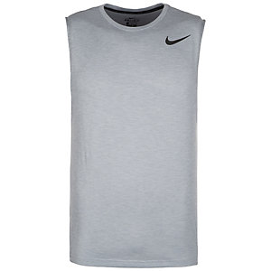 Nike Breathe Funktionstank Herren grau / schwarz